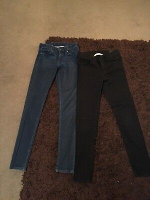 Girls H&M Skinny Jeans Age 9-10 Years