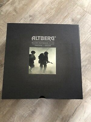Size 11 L brown altberg defender military Army boots BRAND NEW