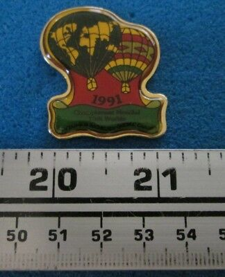 1991 Saint-Jean-Sur-Richelieu Championnat Montgolfière Hot- Air Balloon Pin 7676