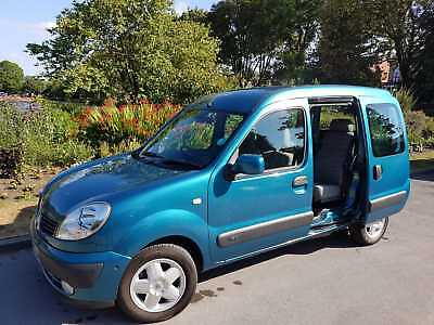 Renault Kangoo Expression Wheelchair Access disabled Vehicle Mobility Conversion