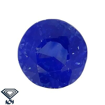 IGI certified Kashmir Sapphire untreated 0.40ct Natural Loose Gemstones.
