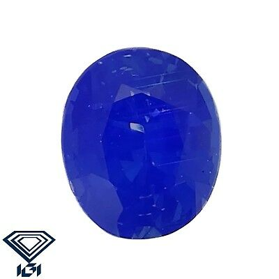 IGI certified Kashmir Sapphire untreated 0.29ct Natural Loose Gemstones.