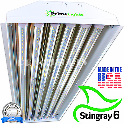LED High Bay Light USA MADE StingRay 6 Brightest Durable Shop Light MAX COVERAGE