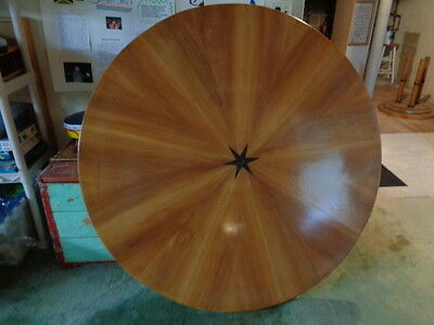 Antique Art Deco Biedermeier Round Table