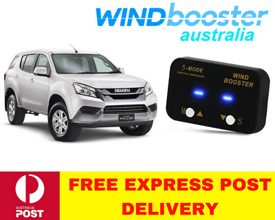 Windbooster 5-Mode Throttle Controller to suit Isuzu MUX from 2012 Onwards