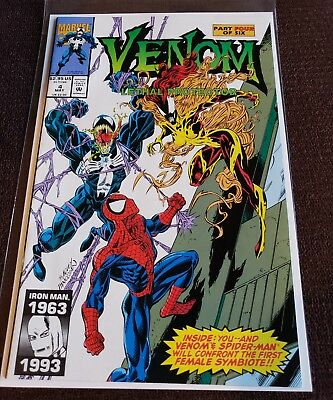 Venom Lethal Protector 4 NM  1st Appearance of Scream