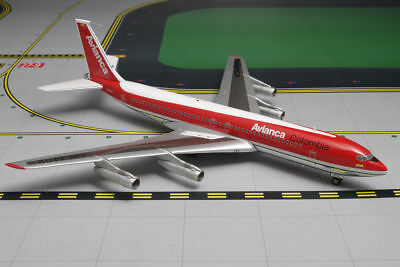 """1:200 Inflight Aviation AVIANCA COLOMBIA Boeing 707-300 """"Polished"""" HK-1402 RARE!"""
