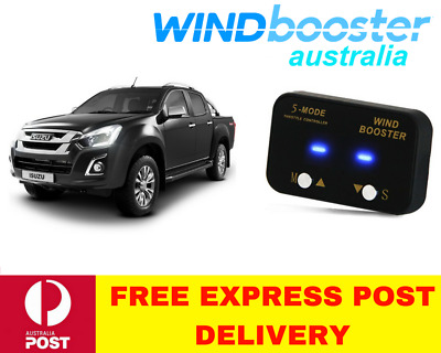 Windbooster 5-Mode Throttle Controller to suit Isuzu DMAX 2012 Onwards