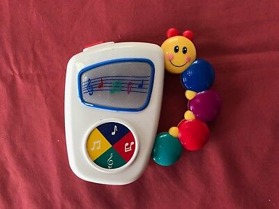 Fisher Price musical cot toy with handle