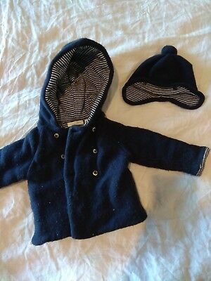 Country Road Baby Boys Jacket And Beanie Size 0