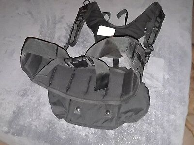 Wolfpack Gear Black Fanny Pack and web harness HR 1100 Brand New