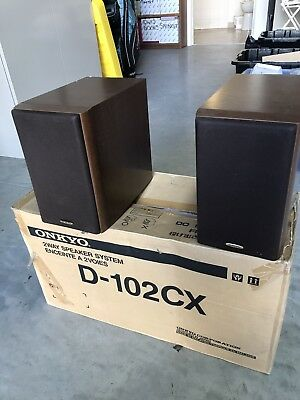 Bookshelf Speakers ONKYO D 102CX