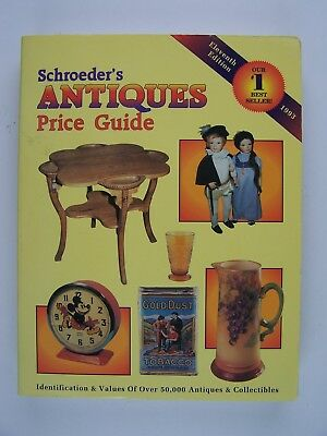 Schroeders Antiques Price Guide Identification and Values of Over 50,000 Antique