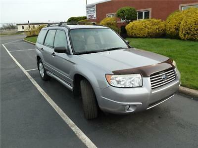 Forester X 2008 Subaru Forester X AWD 5 Speed Manual One Owner No Reserve