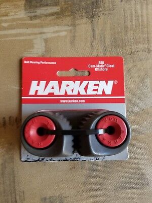 Harken 280 Offshore Cam Cleat Aluminum new