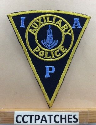 Indianapolis, Indiana Auxiliary Police Shoulder Patch In