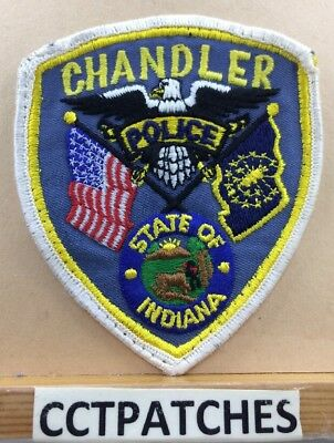 Chandler, Indiana Police Shoulder Patch In