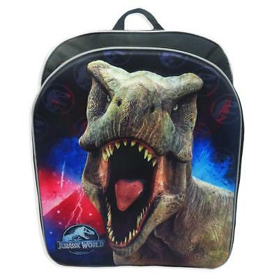 Jurassic Park T Rex Boys School Backpack Bookbag Dinosaur 3D Molded Cordura Kids