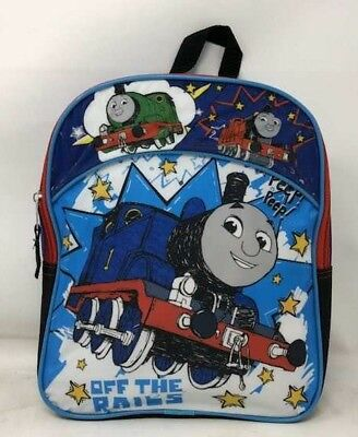 Thomas the Train and Friends Boys Toddler Pre School Backpack Bookbag Kids 12""