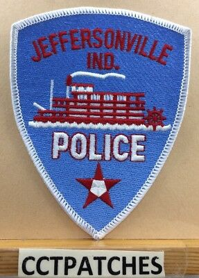 Jeffersonville, Indiana Police Shoulder Patch In