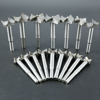 16 PCS Tungsten Steel Hole Saw Kit for Drilling Hard Thick Wood Plastic Plywood