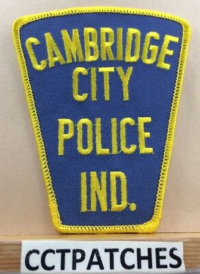 Cambridge City, Indiana Police Shoulder Patch In