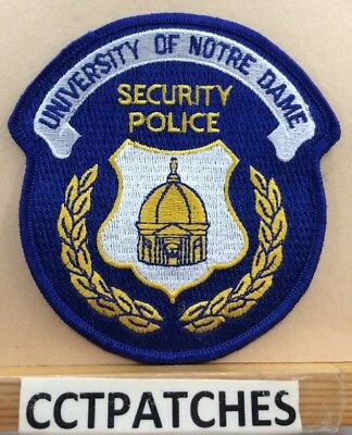 Notre Dame, Indiana Security Police Shoulder Patch In