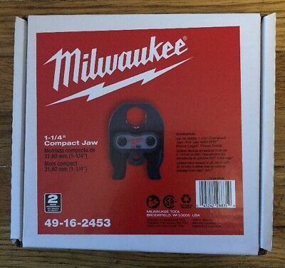 New Milwaukee 49-16-2453 M12 Force Logic 1-1/4 in. Jaw