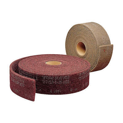 "SCOTCH-BRITE Abrasive Roll,4"" W x 30 ft. L,AS, CF-RL, White"