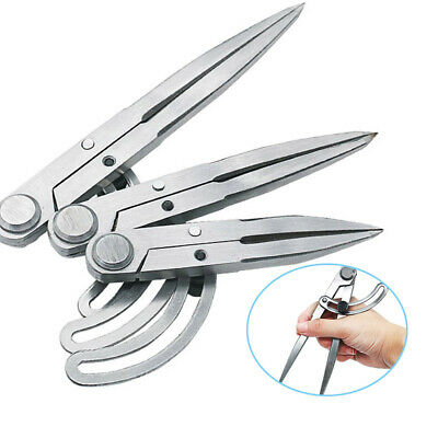 Adjustable Leather Craft Rotating Tool Spacing Compass Scriber Edge Creaser