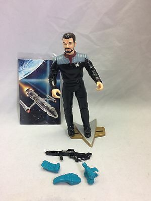 Star Trek TNG First Contact Commander William Riker 1996 100% complete 16102