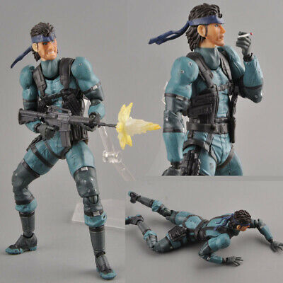 Figma no.243 Solid Snake Metal Gear Solid 2 Action Figure no box Figure gift