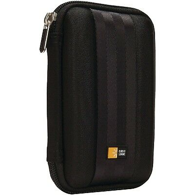 Hard Drive Case EVA Carrying Bag Portable Zippered Cover Charger Cable Storage