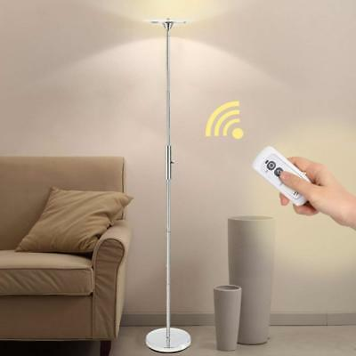 LED Floor Lamp Remote Control 18W 1700 Lumen Warm White Light Dimmable US Stock
