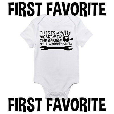 192f70e38 BABY BODYSUIT - Grandpa s Little Sidekick Cute Baby Clothes for ...