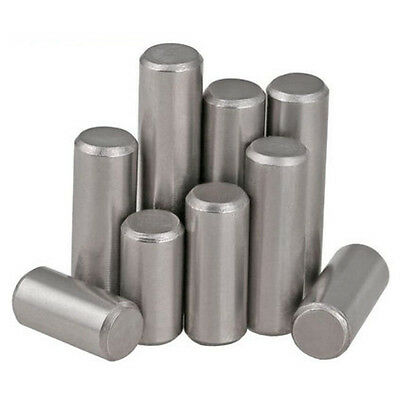 M1.5 M2 M2.5 Solid 304 stainless steel Dowel pins Cylindrical Parallel pins