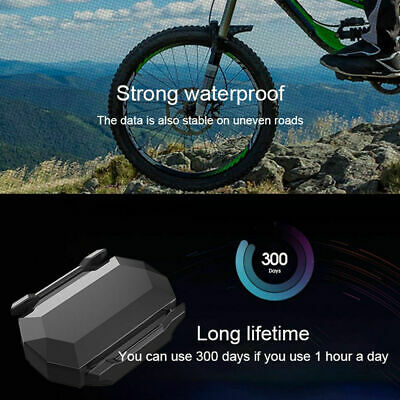 Bicycle Bluetooth ANT+ Sensor Speed Cadence Sensor For Strava Garmin Bryton ST