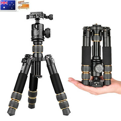 Q-166A Portable Travel DSLR Camera Mini Desktop Tripod Ball Head For Nikon Canon