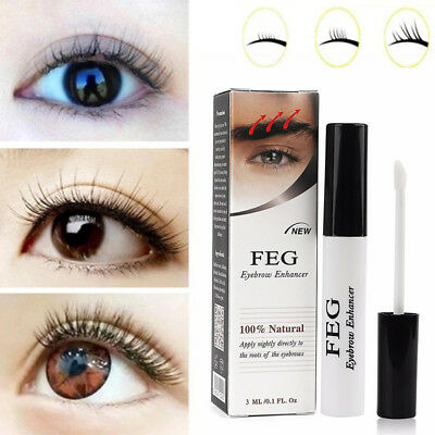 FEG Eyelash Enhancer Eyebrow Eye Lash Rapid Growth Serum Liquid 3ml Eyes INS9