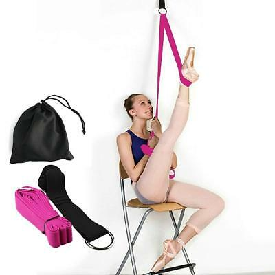 Ballet Stretch Band Leg Door Stretching Strap Dance Home Exercise Foot Stretcher