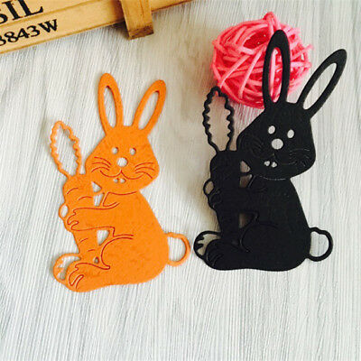 DIY Metal Cutting Dies Scrapbooking Rabbit Photo Album Decor Embossing Paper N7