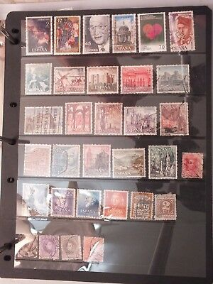 Spain stamps