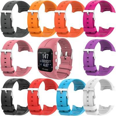 Soft Silicone Replacement Wrist Watch Band Bracelet Strap for Polar M400 M430