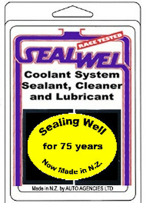 SEALWEL COOLING SYSTEM SEALANT & CLEANER x2 CUBES - free shipping to U.S./CANADA