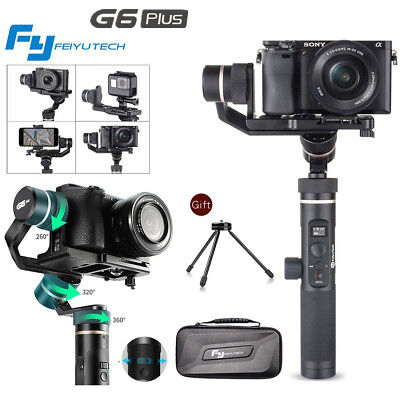 2018 Feiyu G6 Plus 3-Axis Handheld Gimbal Stabilizer for GoPro Hero 6 5 Sony RX0