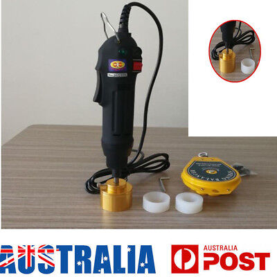 hand-held electric capping machine bottle cap machine Sealing Machines AU SHIP