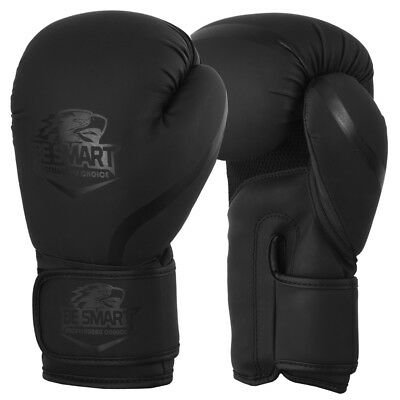 Maya Leather Boxing Gloves Muay Thai Punch Bag Sparring MMA Training Kickboxing