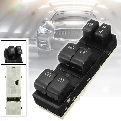 ABS Plastic Power Electric Master Window Switch FL For Infiniti G35 G37 G25 Q40
