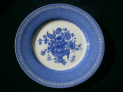 Blue and White Plate by Churchill England. Lot 801