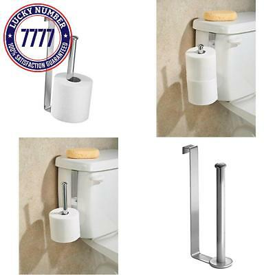 MDESIGN OVER THE Tank Toilet Paper Holder for Bathroom Storage â ...